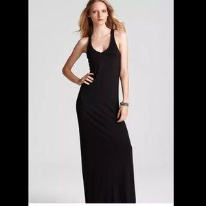 Vince V-neck Maxi Dress (w built in bra!) sz Large